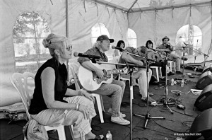 Daytime workshop with Emmylou Harris and Buddy Miller, 2003
