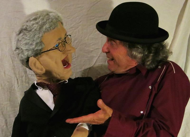 James Gordon and Harper puppet